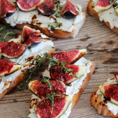 Bruschettas de queso azul con higos16