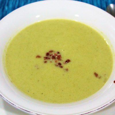 Crema de brócoli y judias verdes20