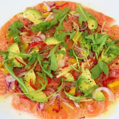 carpaccio ceviche de salmón1